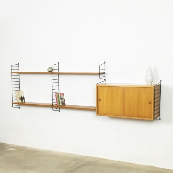 Wall Unit by Nils Strinning for String Design AB