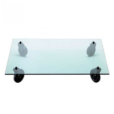 Tavolo con ruote coffee table by gae aulenti for fontana - Tavolo con ruote gae aulenti ...