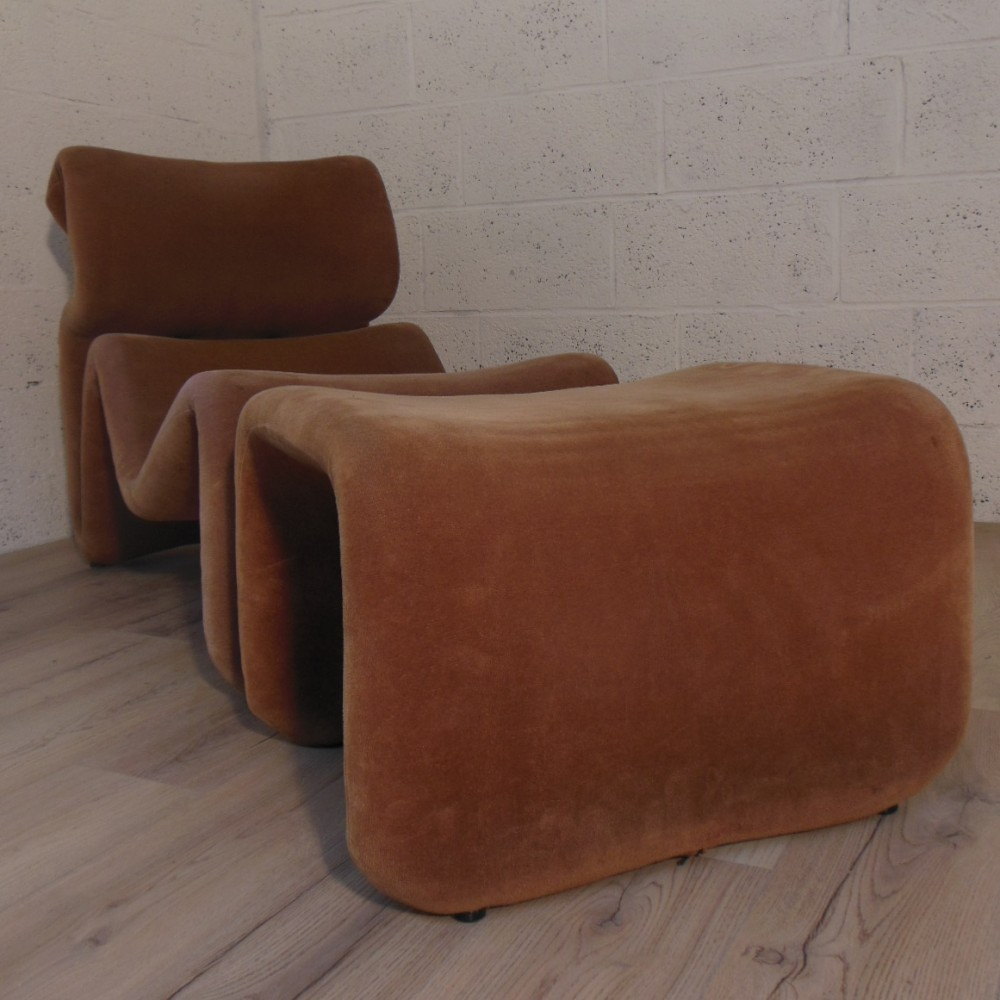 Etcetera Lounge Chair by Jan Ekselius for Unknown Manufacturer