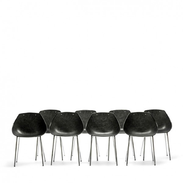 Shell Dinner Chair by Pierre Guariche for Meurop