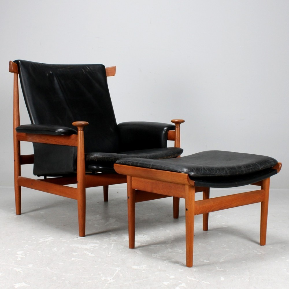 bwana lounge chair by finn juhl for france son 1950s 33525