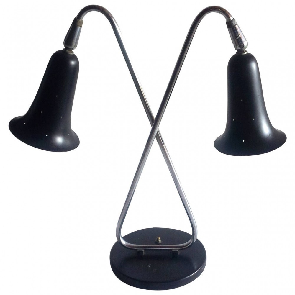 Desk Lamp by Gerald Thurston for Lightolier USA