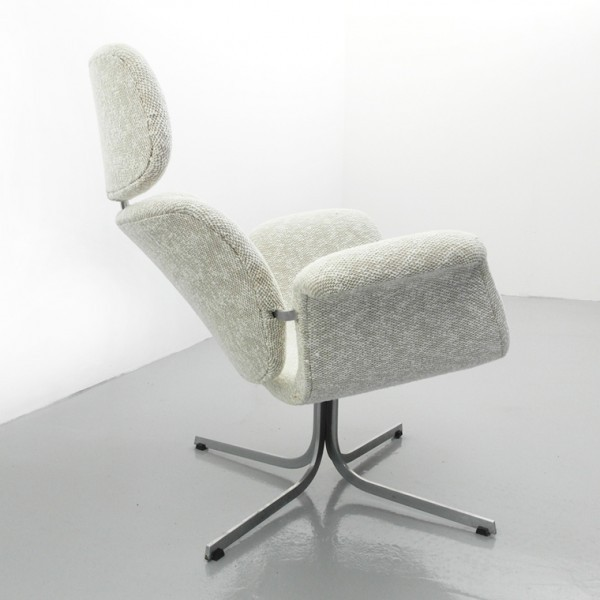 Big Tulip Lounge Chair by Pierre Paulin for Artifort