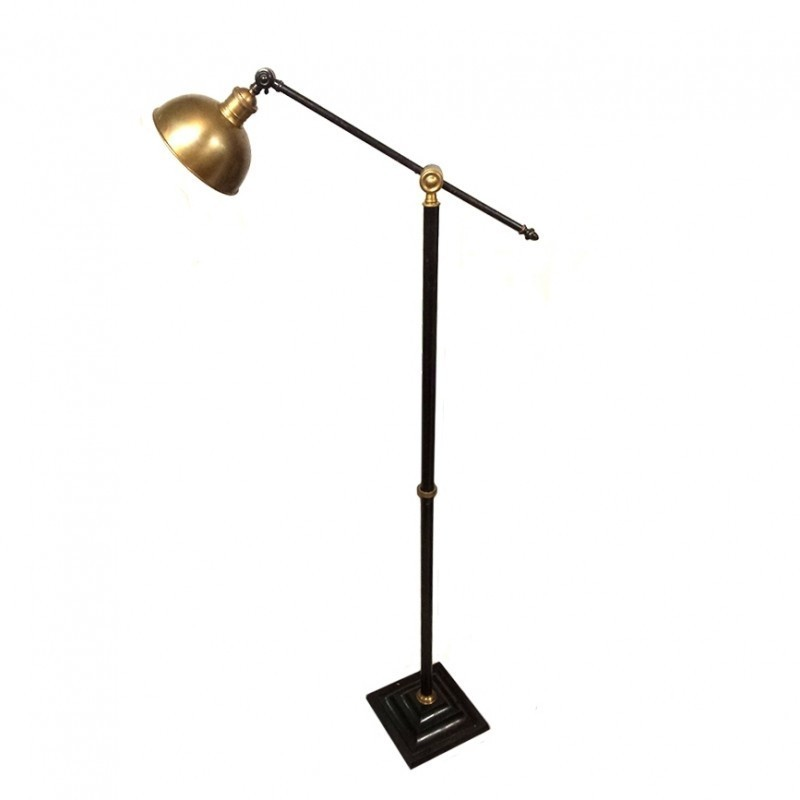Vintage floor lamp 33698 for Antique floor lamp manufacturers