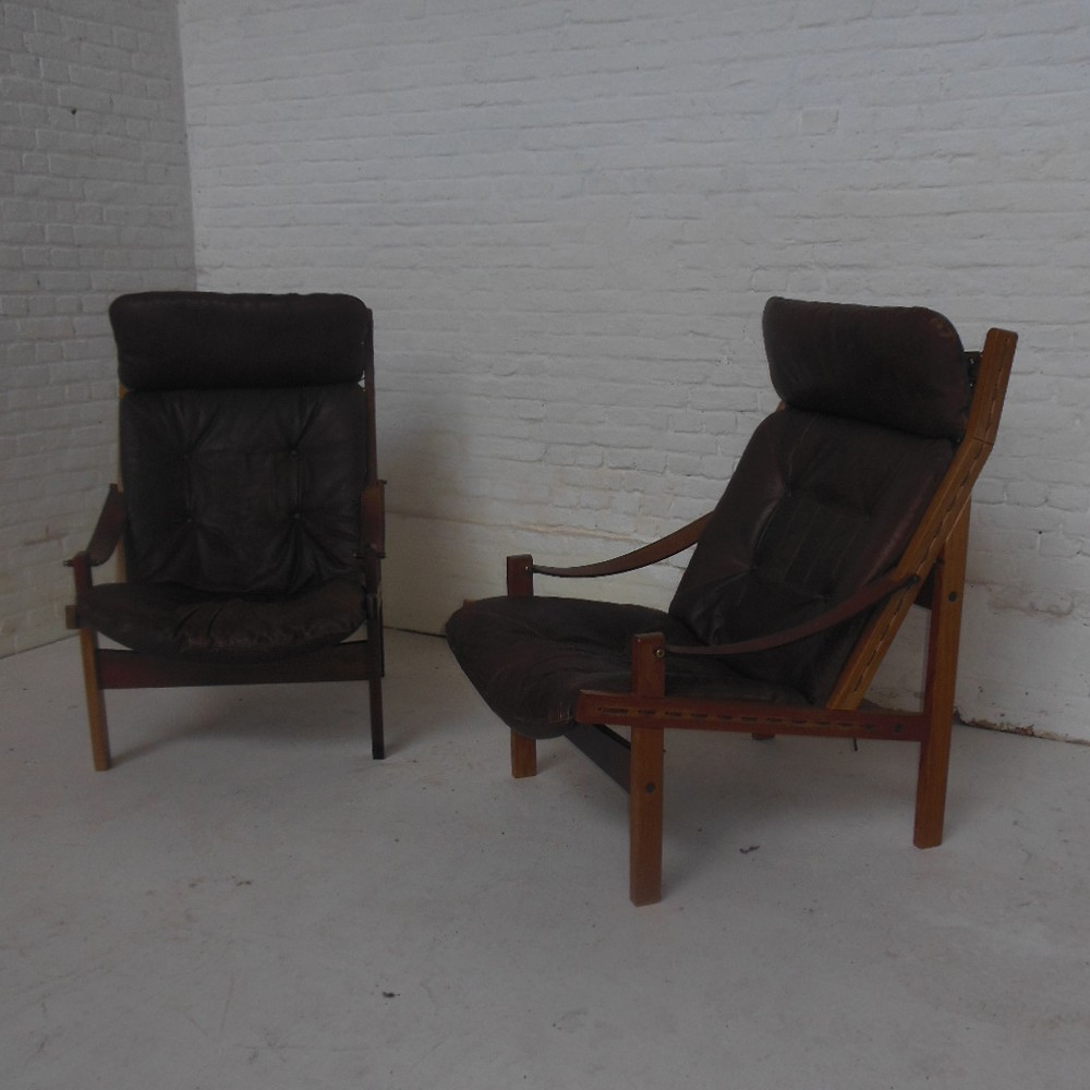 Lounge Chair by Arne Norell for Unknown Manufacturer