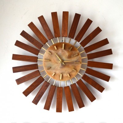 Clock by Unknown Designer for Manley