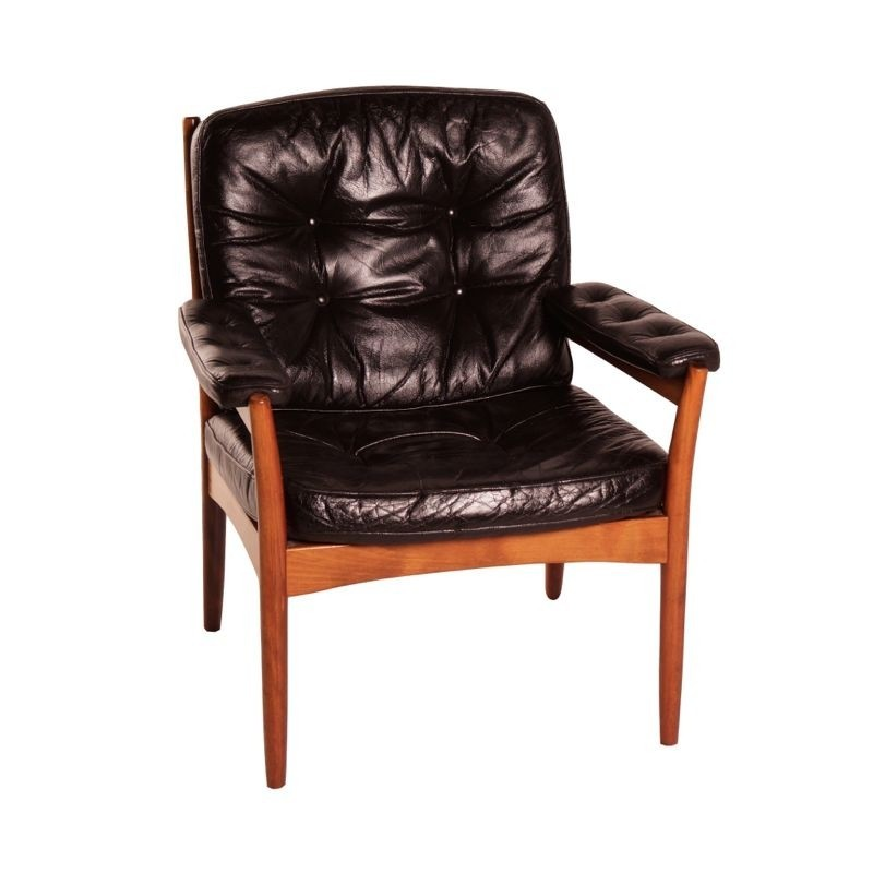 lounge chair by unknown designer for g te m bel 34192. Black Bedroom Furniture Sets. Home Design Ideas