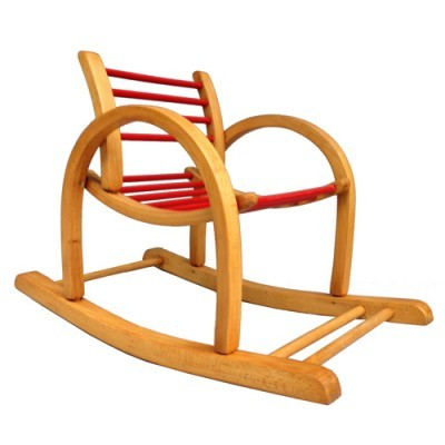 Rocking Chair Children Furniture by Unknown Designer for Baumann