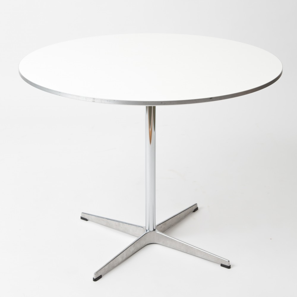 4 X Dining Table By Arne Jacobsen Bruno Mathsson For Fritz Hansen