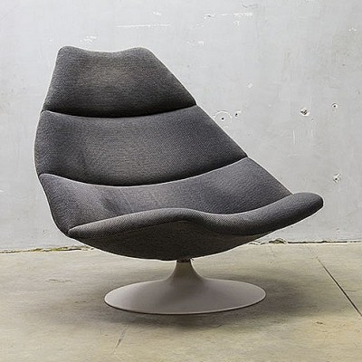 F591 Lounge Chair by Geoffrey Harcourt for Artifort