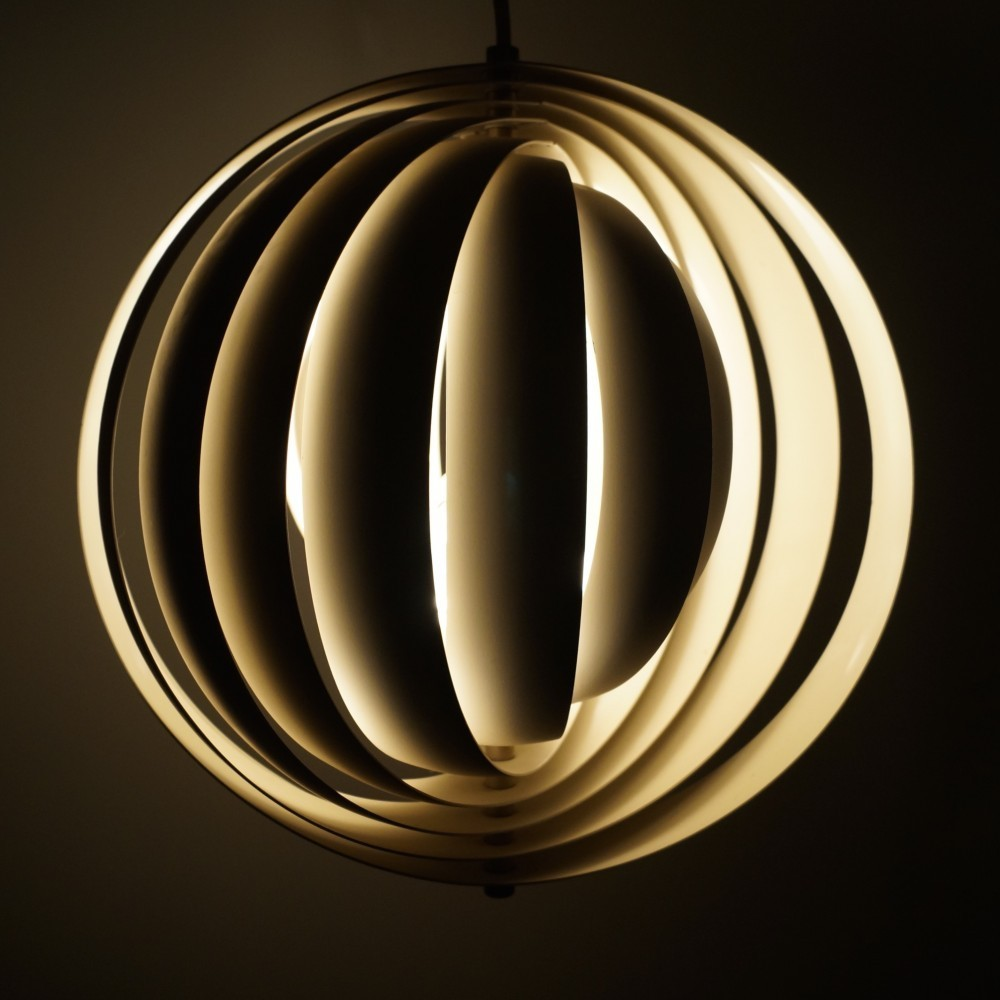 Moon hanging lamp by Verner Panton for Louis Poulsen, 1950s | #34828 for Moon Lamp Hanging  157uhy