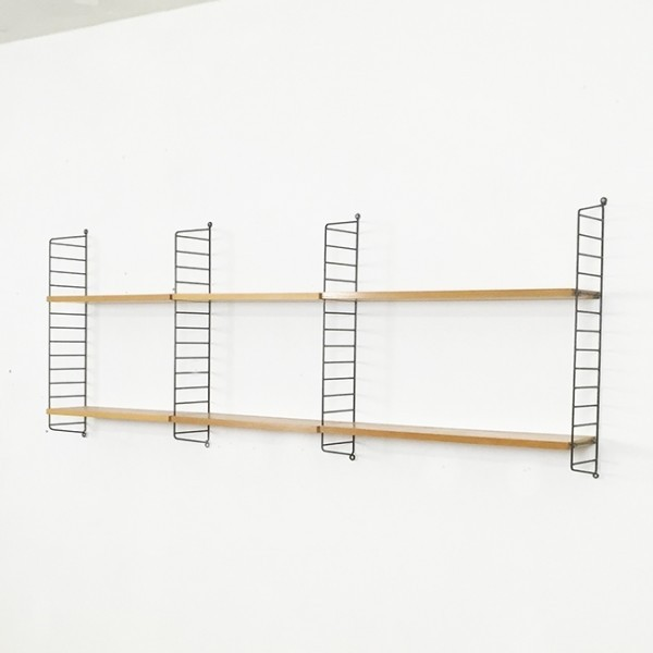 String Wall Unit by Nisse Strinning for String Design AB