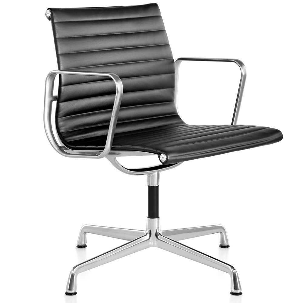 4 x ea 107 office chair by charles u0026 ray eames for vitra 1990s