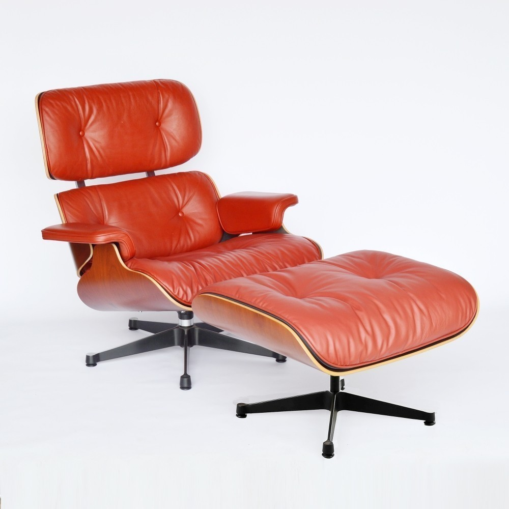 lounge chair by charles and ray eames for vitra 35224. Black Bedroom Furniture Sets. Home Design Ideas