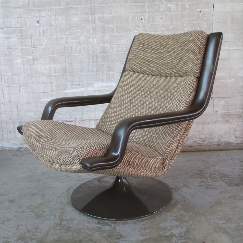 F140 Lounge Chair by Geoffrey Harcourt for Artifort