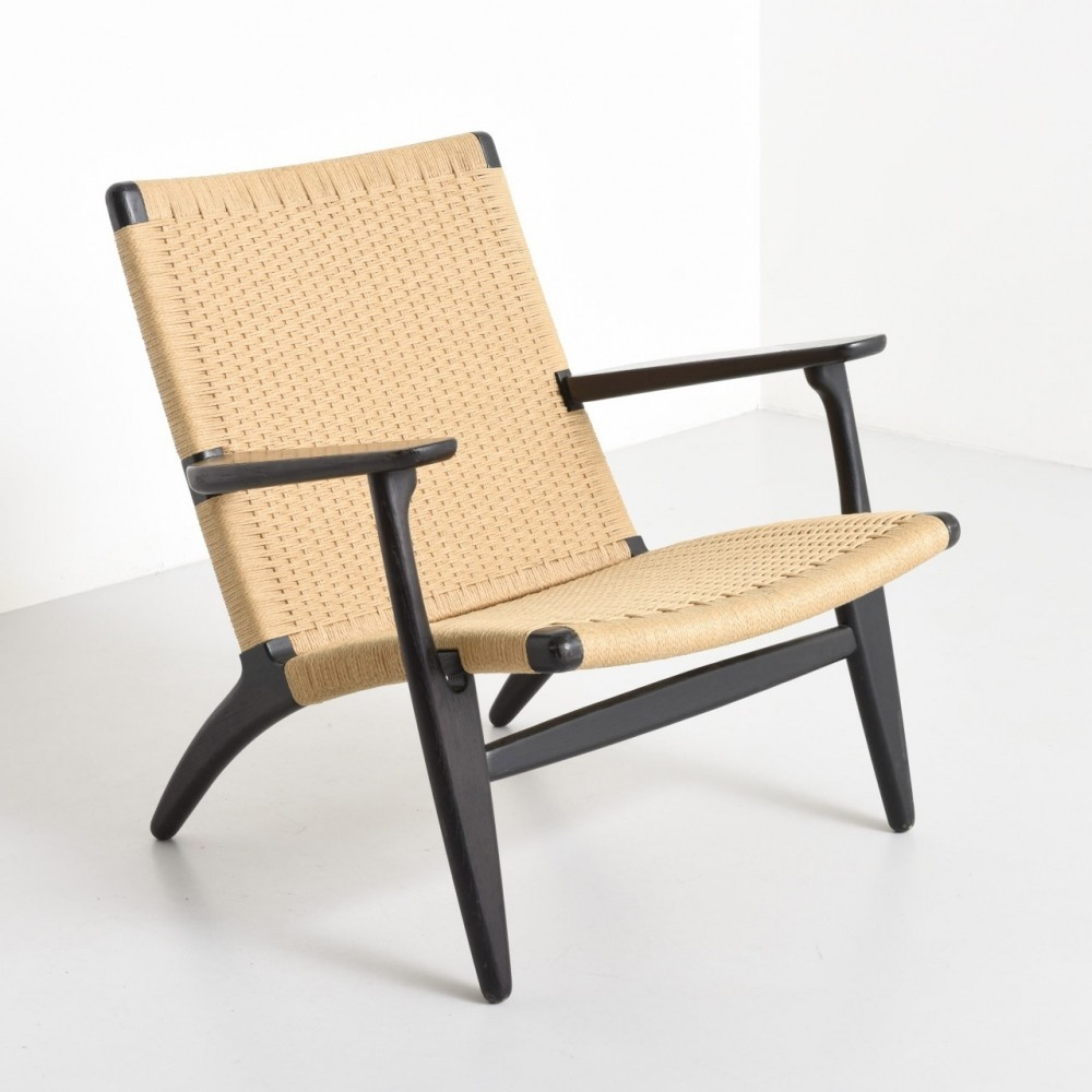 Ch 25 Lounge Chair by Hans Wegner for Carl Hansen and Son