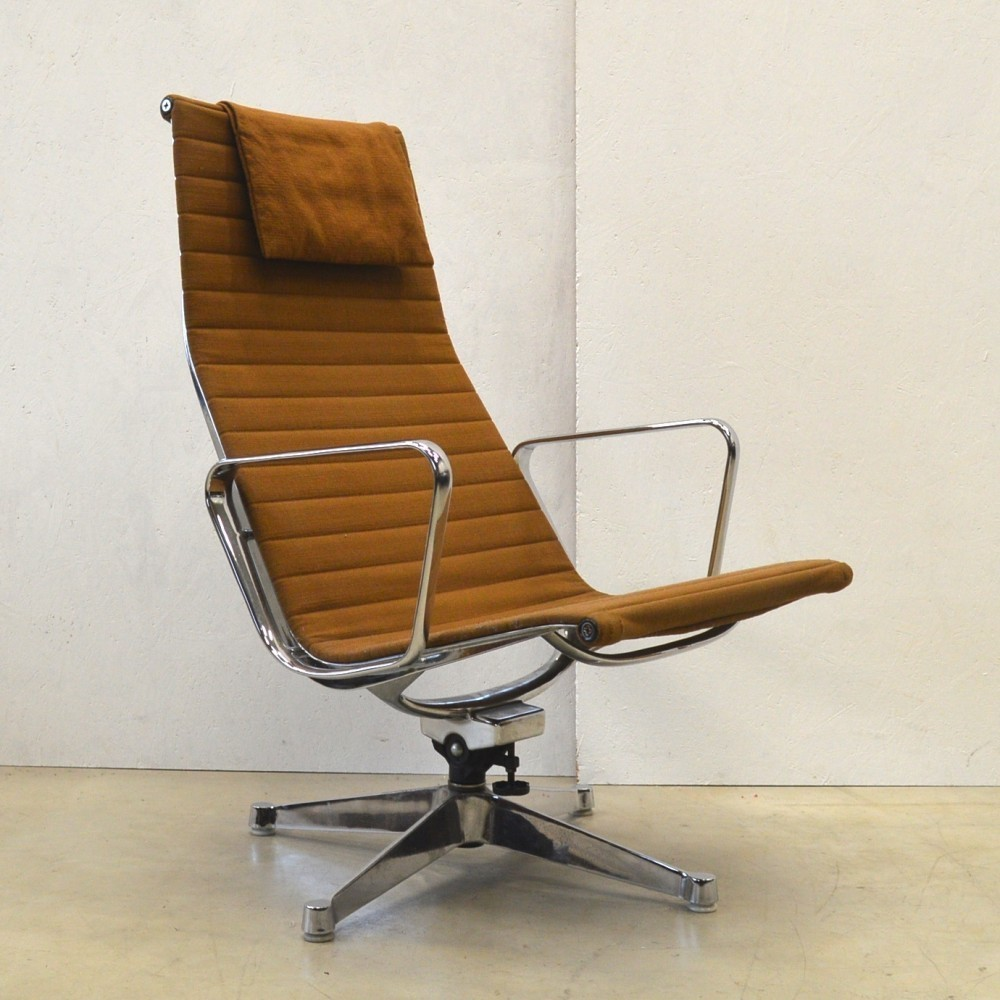 Ea124 lounge chair by charles and ray eames for herman - Charles eames and ray eames ...