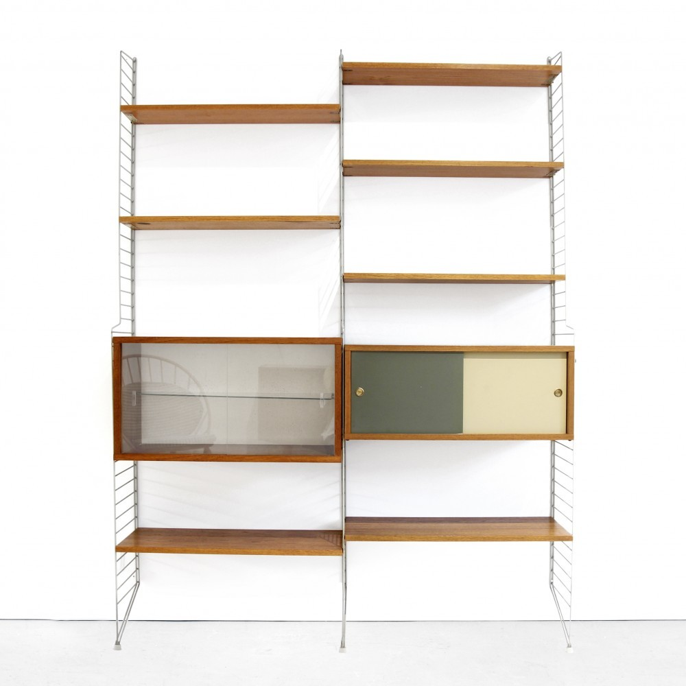String Wall Unit by Nils Strinning and Kajsa Strinning for String Design AB