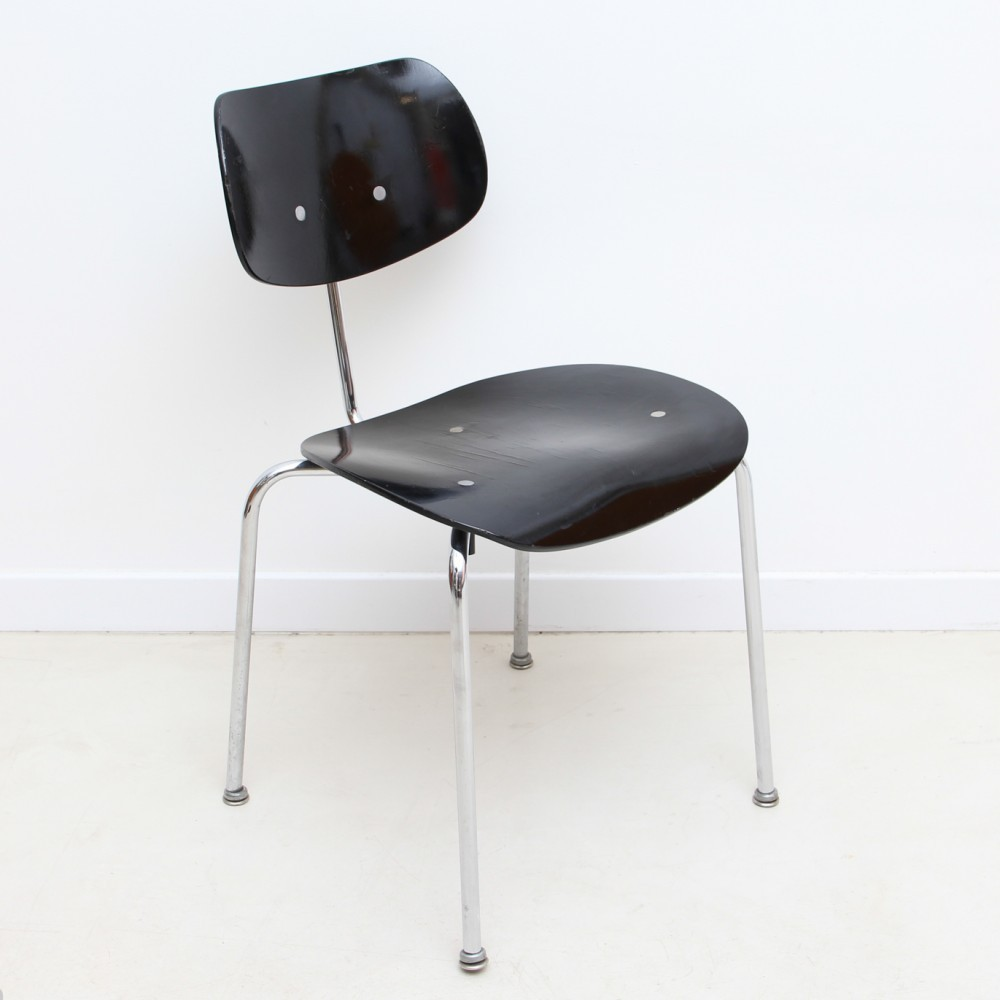 4 x se68 dinner chair by egon eiermann for wilde und spieth 1950s 36434. Black Bedroom Furniture Sets. Home Design Ideas