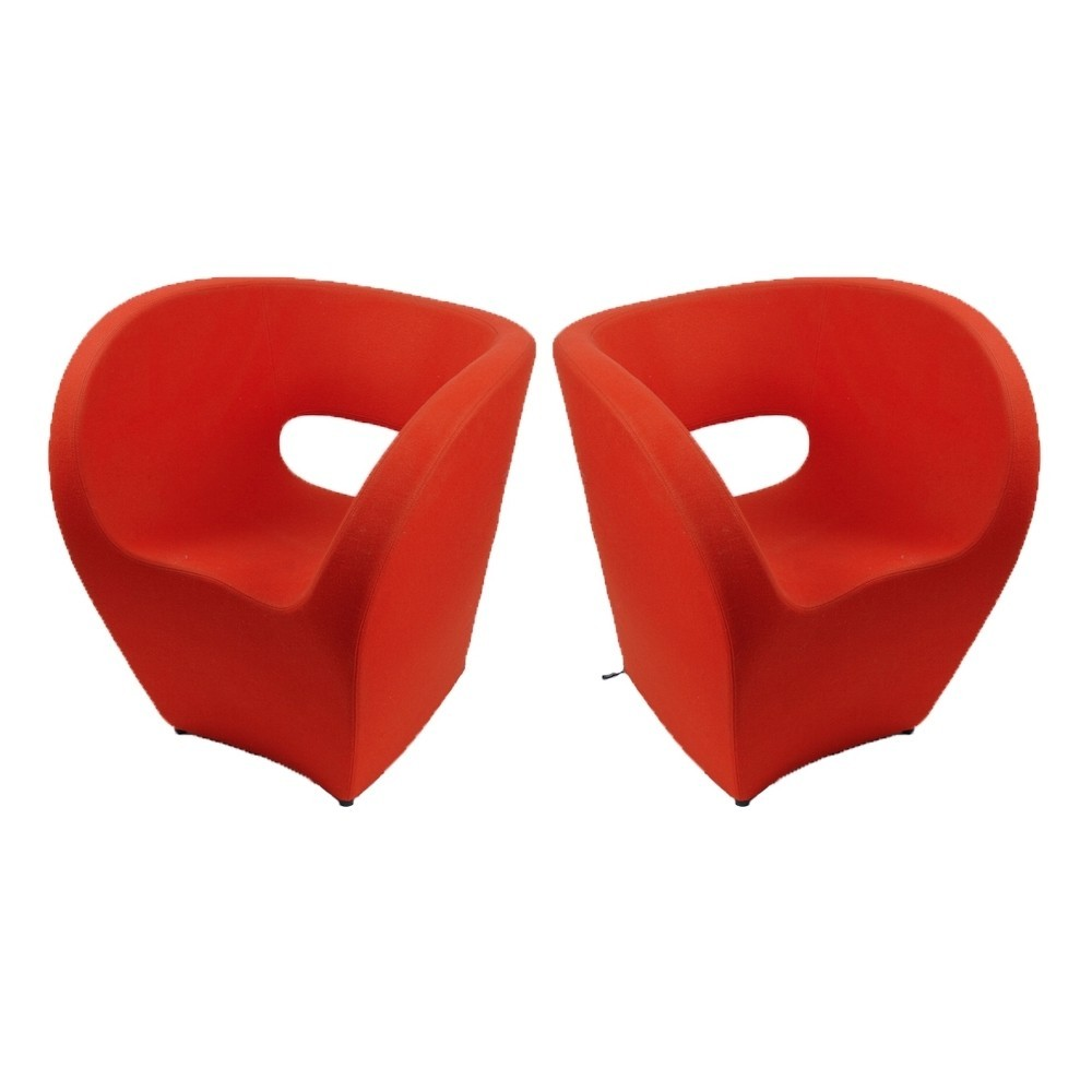 Poltrona Little Albert Moroso.2 X Little Albert Lounge Chair By Ron Arad For Moroso Italy 1990s