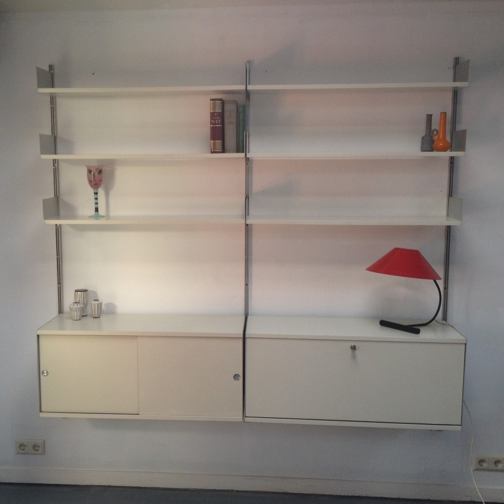 Wall Unit from the fifties by Dieter Rams for Vitsoe