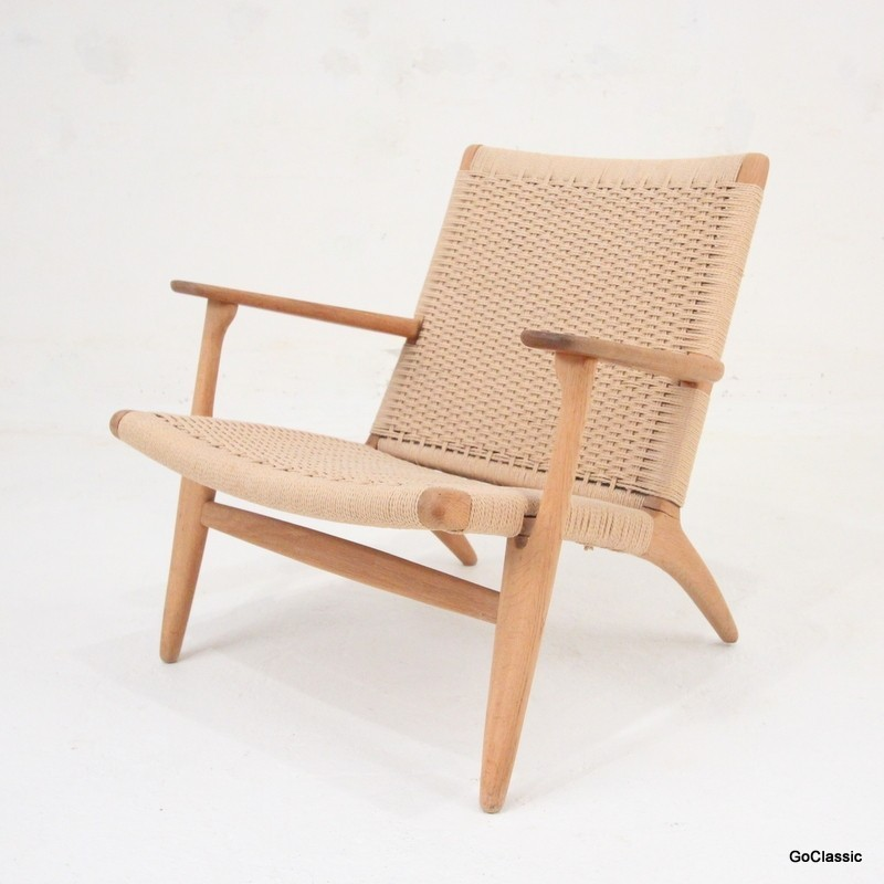 CH 25 Lounge Chair by Hans Wegner for Carl Hansen