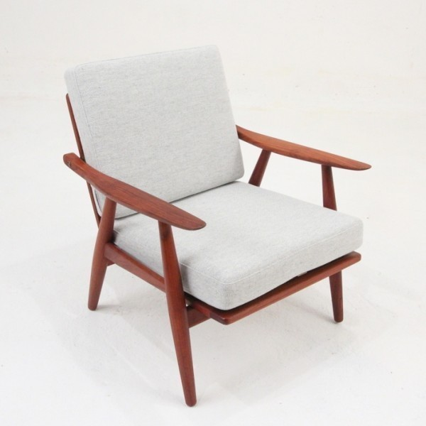 GE 270 Lounge Chair by Hans Wegner for Getama