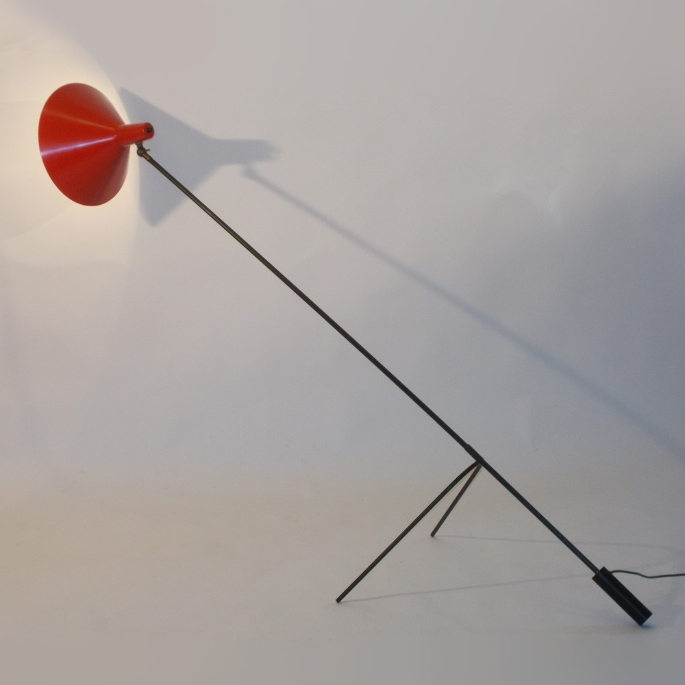 1502 Sprinkhaan (grasshopper) Floor Lamp by J. Hoogervorst for Anvia Almelo
