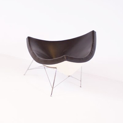Attractive Coconut Lounge Chair By George Nelson For Vitra, 1950s