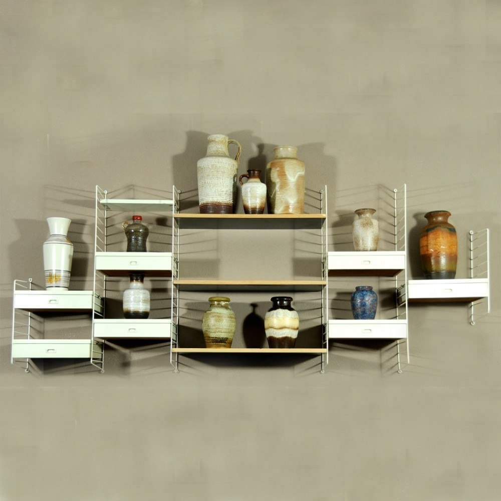 Wall Unit by Unknown Designer for String Design AB