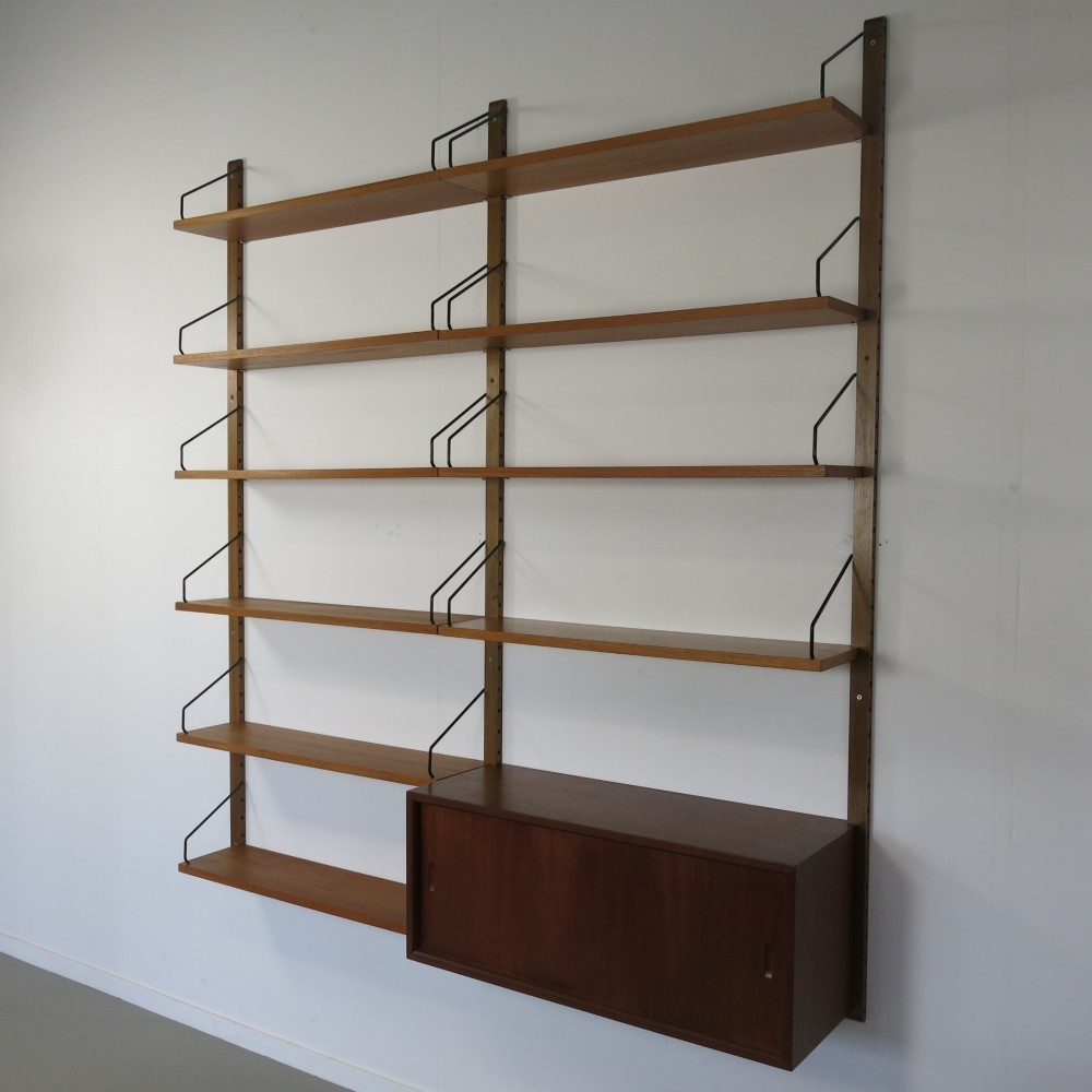 Royal Wall Unit by Poul Cadovius for Cado