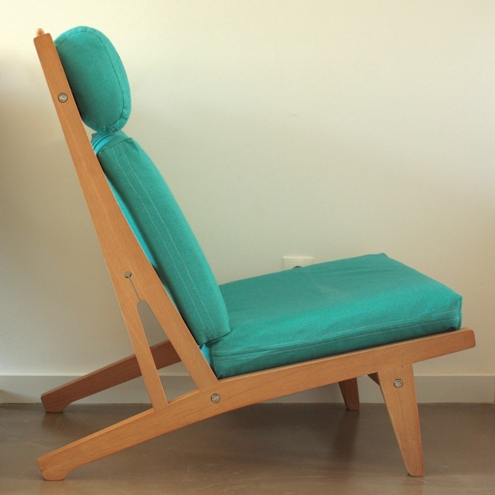 GE 75 Lounge Chair by Hans Wegner for Getama