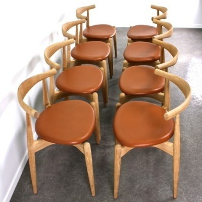 CH20 Elbow Dinner Chair by Hans Wegner for Carl Hansen and Son
