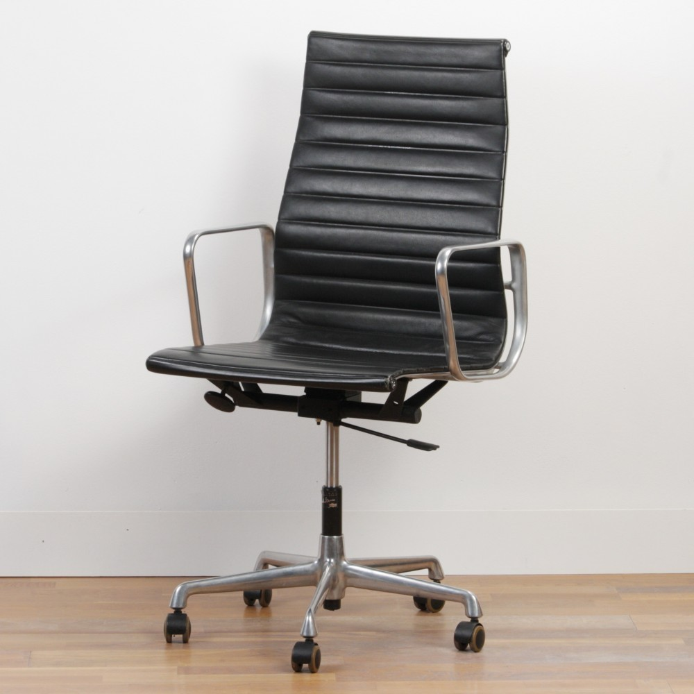 ea 119 office chair by charles ray eames for vitra 1970s 37800. Black Bedroom Furniture Sets. Home Design Ideas