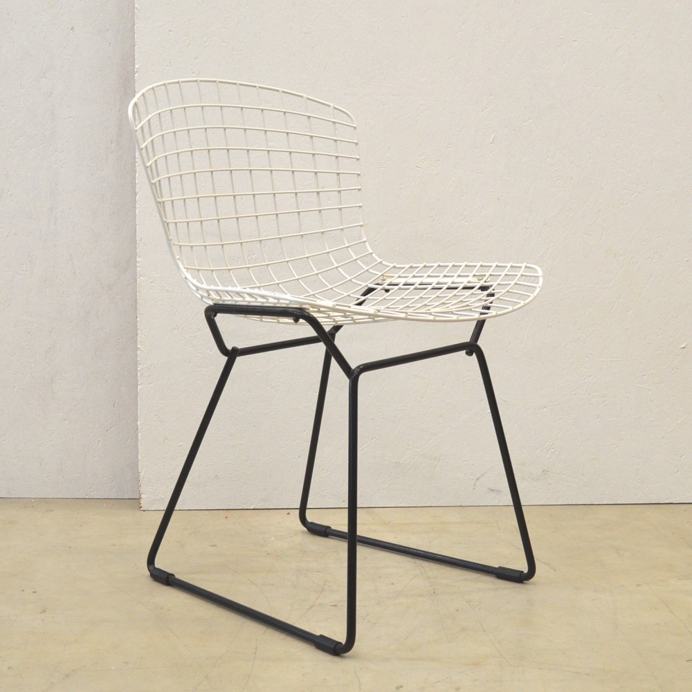 Wire Dinner Chair by Harry Bertoia for Knoll International