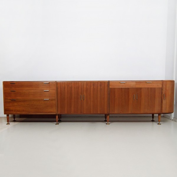Poly-Z Sideboard from the sixties by A. Patijn for Zijlstra Joure