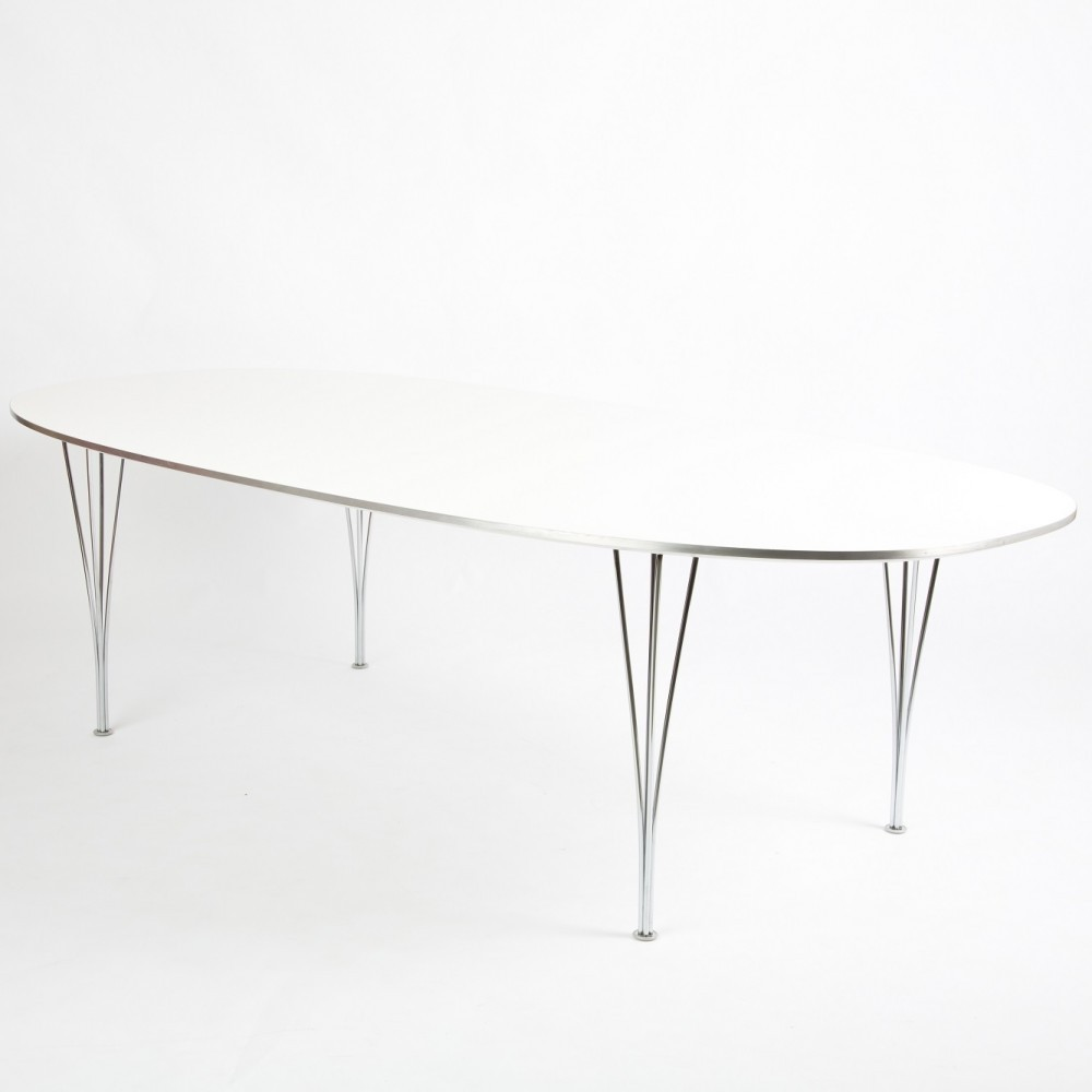 Spanpoottafel Dining Table By Piet Hein Arne Jacobsen For Fritz