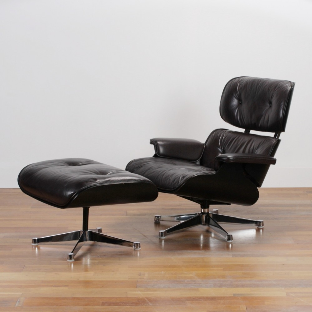 Lounge chair by charles and ray eames for herman miller for Charles eames lounge chair preisvergleich
