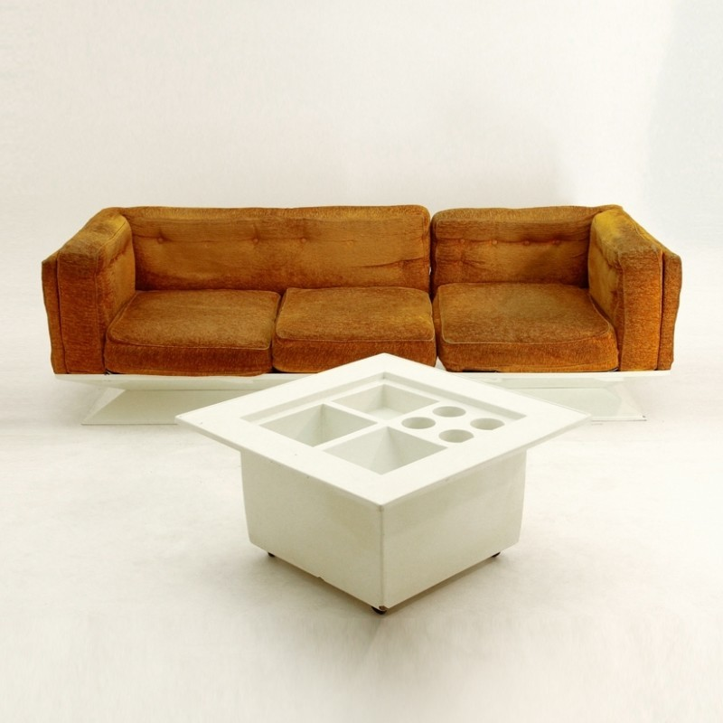 Sofa by Luigi Pellegrin for MIM Roma