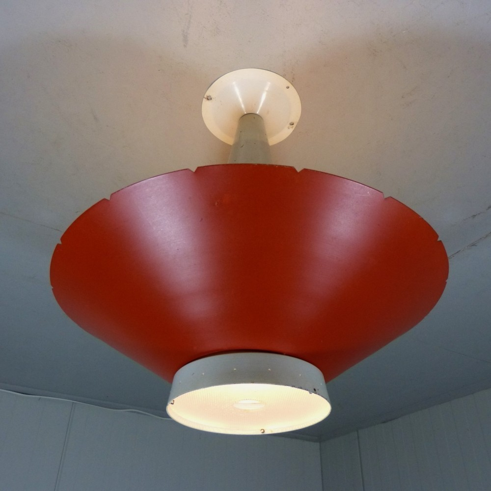 Ceiling Lamp by J. Hoogervorst for Anvia Almelo