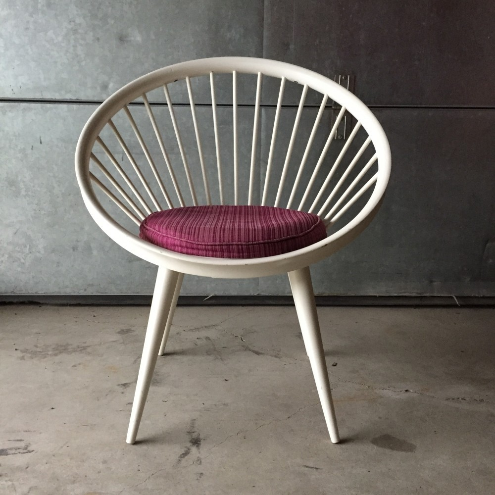 Genial Circle Or Hoop Chair Lounge Chair By Yngve Ekström, 1960s