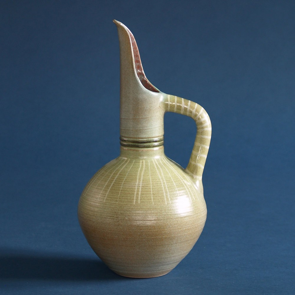 Horus vase by Fernand Lacaf & Françoise Delacourt Lacaf for Vallauris, 1950s