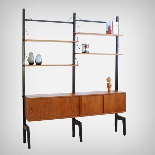Cado Wall Unit by Poul Cadovius for Royal System