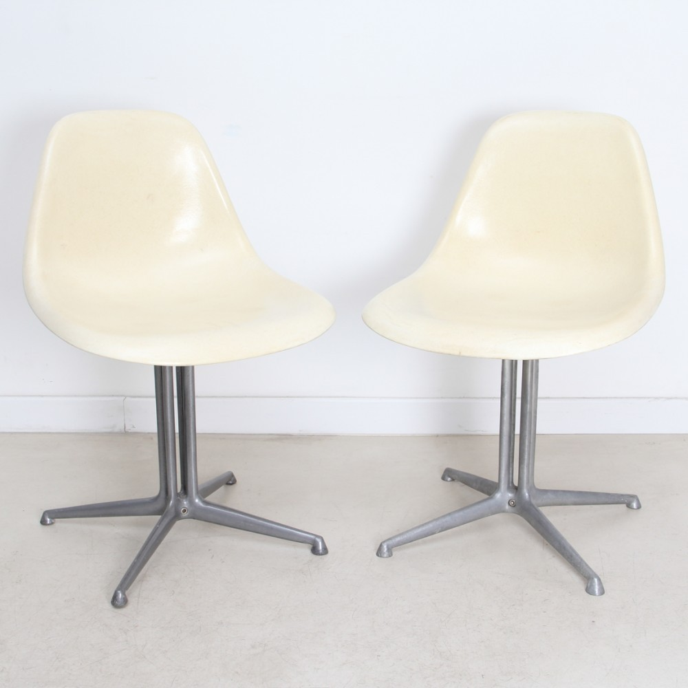 2 x Side Chair La Fonda dinner chair by Charles & Ray Eames for ...