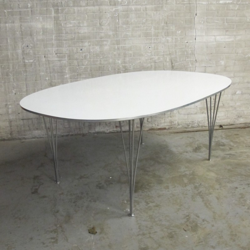 Ellips Dining Table By Arne Jacobsen Bruno Mathsson For Fritz