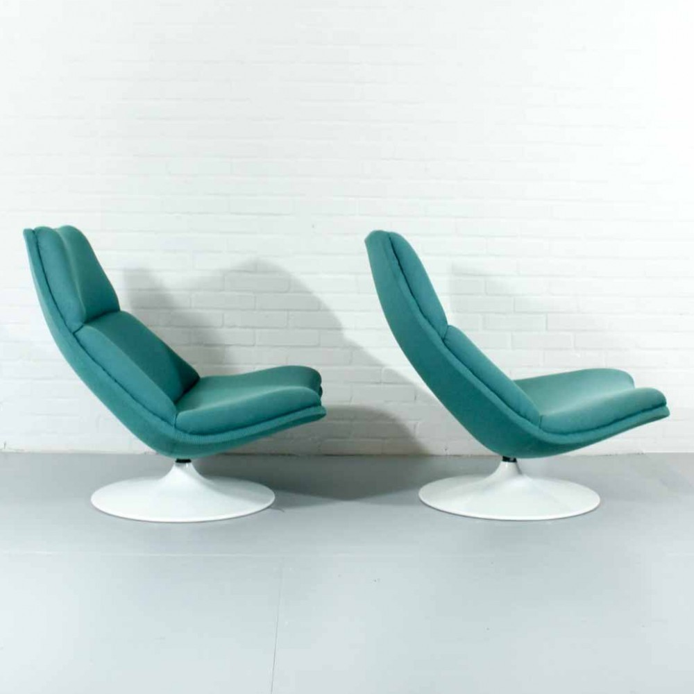 F511 Lounge Chair by Geoffrey Harcourt for Artifort
