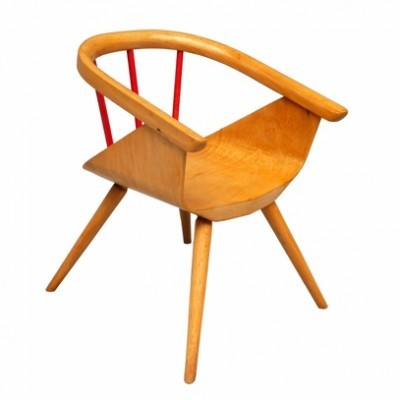 Chair Children Furniture by Unknown Designer for Baumann