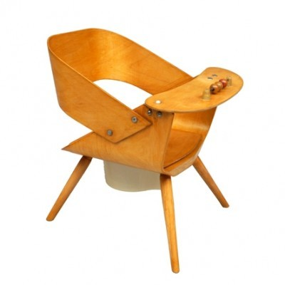 Baby Chair Children Furniture by Unknown Designer for Baumann