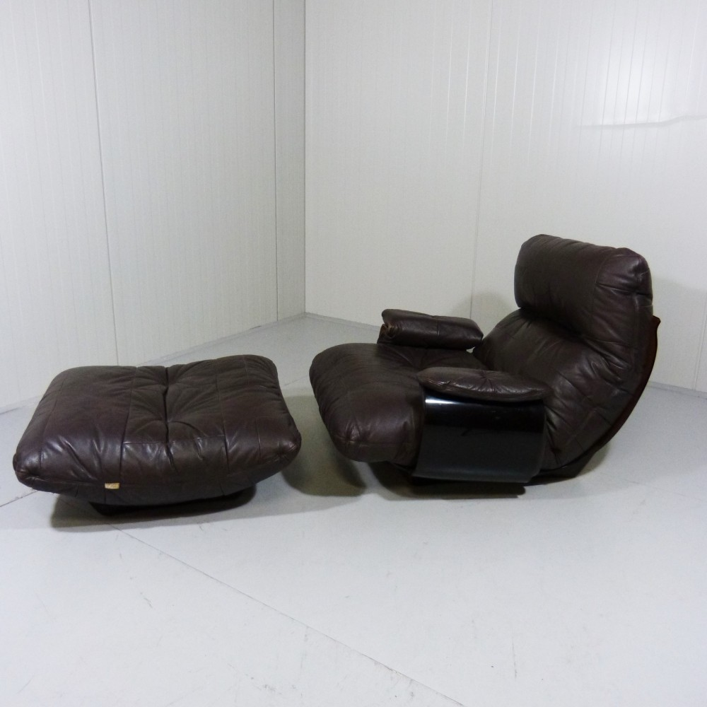 Marsala Lounge Chair from the seventies by Michel Ducaroy for Ligne Roset
