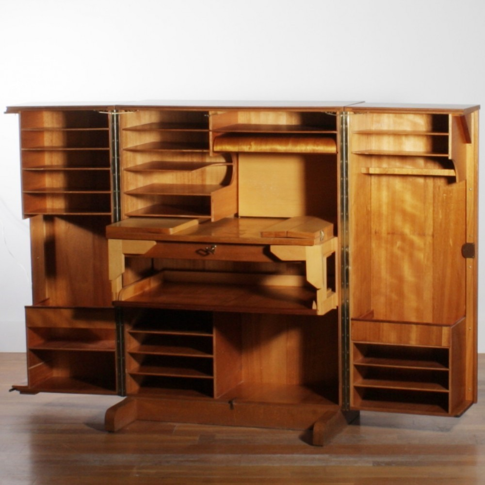 Desk In A Box Cabinet By Unknown Designer For Mummenthaler